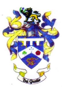 coat of arms of Andrew Edward Kelly